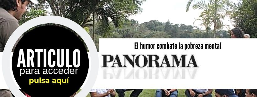 El humor combate la pobreza mental