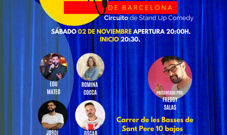 Cómicos de Barcelona / Circuito de Stand Up Comedy 02-11-19
